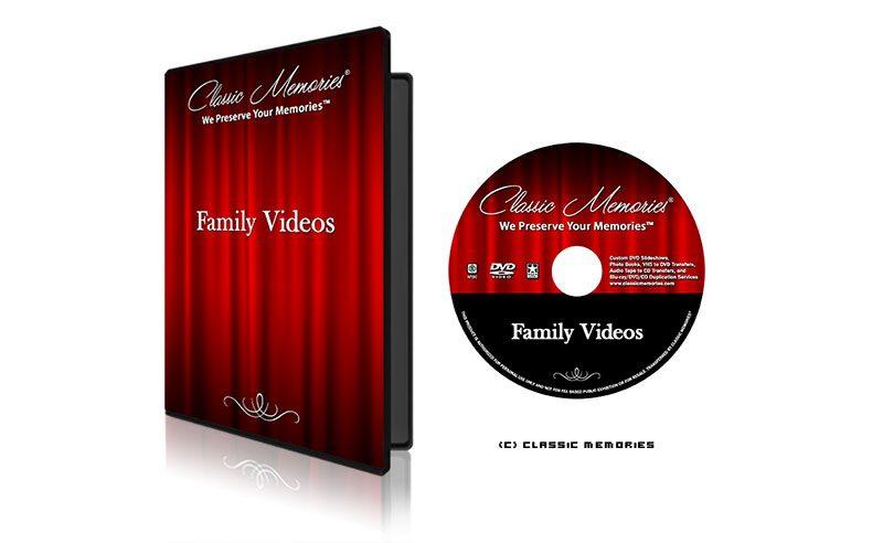 Classic Memories Basic Slideshow Package